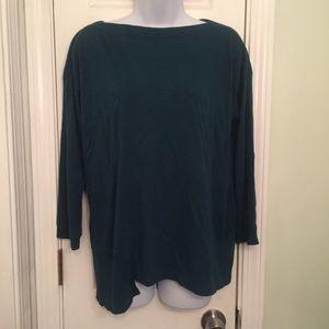 Lilla P Asymmetrical Shirt